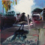 Quiet Street (Short Stroll To The Beach) - 30x30cm - Oil/Board