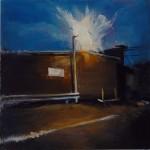Vacant - 30x30cm - Oil/Board