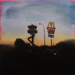 Control Tower - 60x60cm - Oil/Board