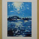 Up Sydney (Study) - 40x30 (inc frame) - Oil/Canvas