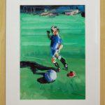 Chelsea Boy - 40x30 (inc frame) - Oil/Canvas