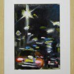 City Evening - 40x30 (inc frame) - Oil/Canvas