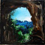 Devil's Coach House #1 - 41x41cm - Oil/Canvas